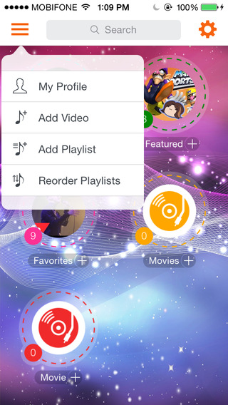 Tube - Music Player for YouTube Vimeo Dailymotion