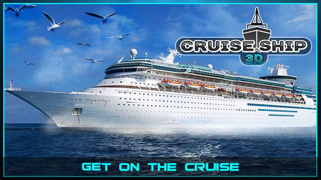 Sailing Cruise Ship Simulator 3D