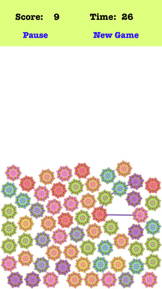 Gravity Petal - Link The Different Color Petals
