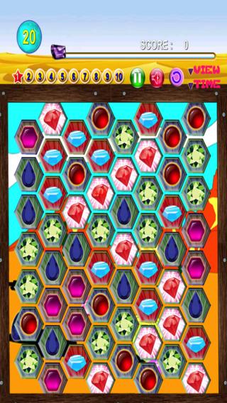 Jewel Gems Match: Radical Quest