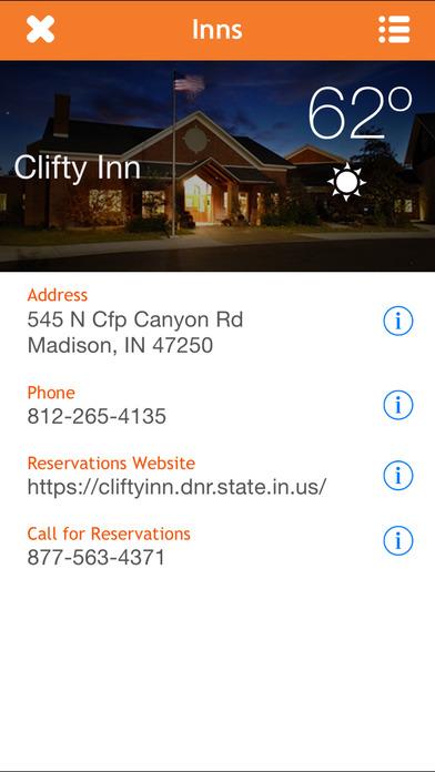 Indiana DNR iPhone Screenshot 3