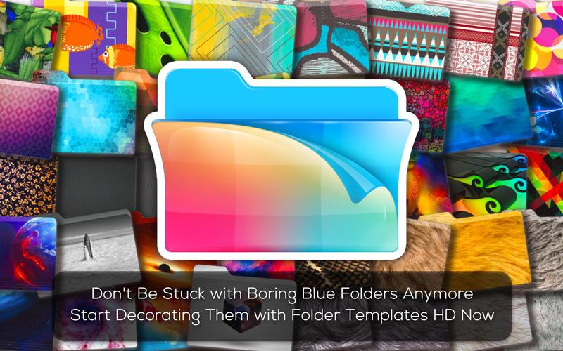 Folder Templates HD Screenshot - 1