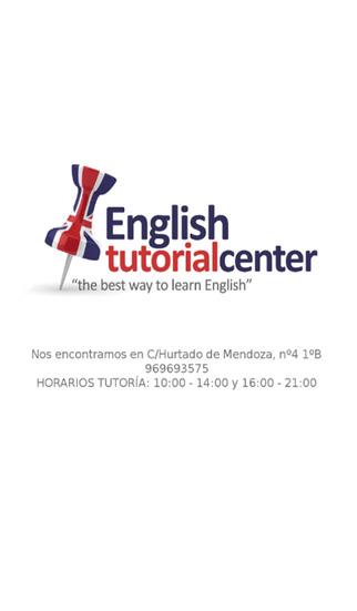 English Tutorial Center
