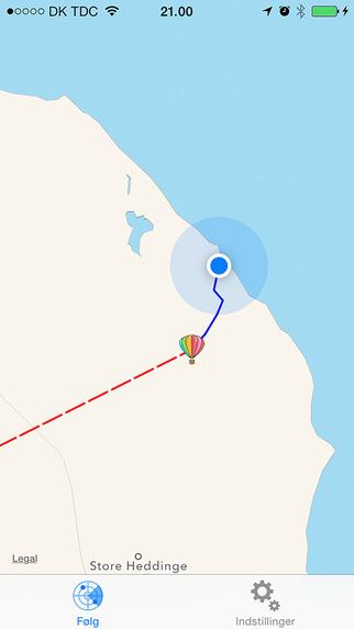 Dreamballoon tracking