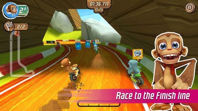 Super Nitro Chimp iOS