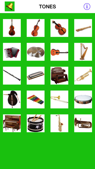 Tones and Instruments for kids