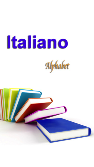 Italian Alphabet-voice clear and accurate