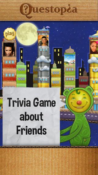 Questopia - Trivia Game about Friends