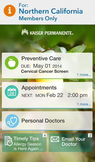 KP Preventive Care for Northern California