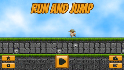 Screenshots of Run and Jump for iPhone