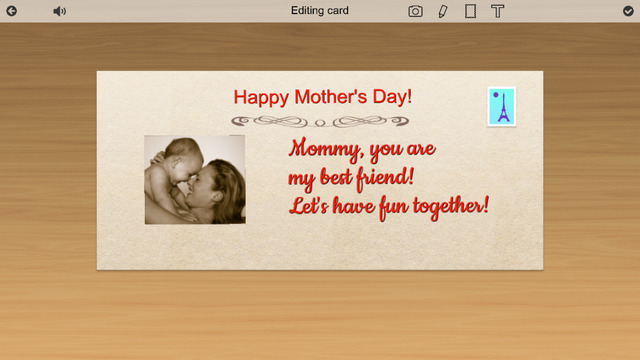 Mothers Day Card Creator Box