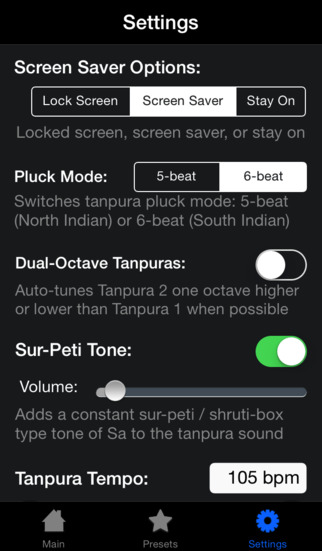 iTanpura Lite - Tanpura Player iPhone Screenshot 5
