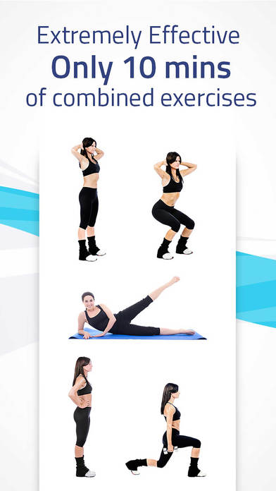 Great Legs: squats, lunges, leg lifts workout Screenshots