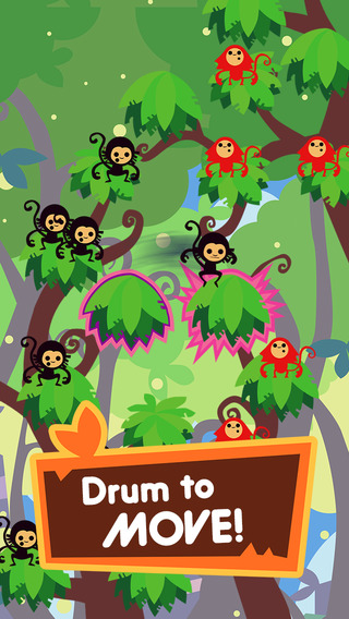 Jungle Rumble: Freedom Happiness and Bananas ◆ Crazy Rhythm Game ◆