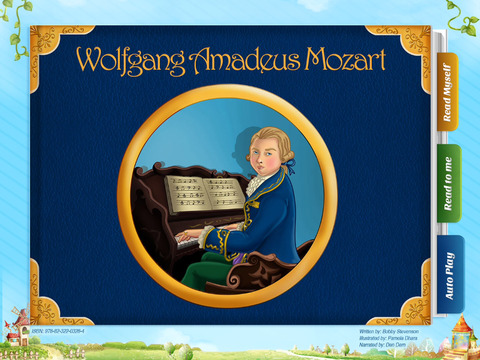 Wolfgang Amadeus Mozart - Have fun with Pickatale while learning how to read