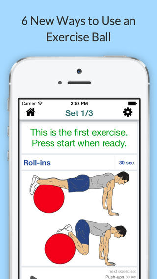 Exercise Ball Workout Routine - Core-strength exercises with a fitness ball