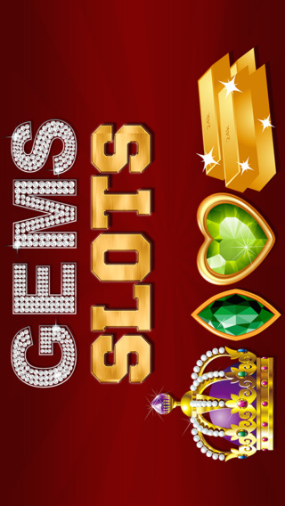 'Gems and Jewels Slots: Big Money Lucky Vegas Slot Machine Games