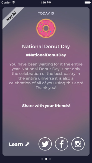 Donut Day - Discover New National Holidays Daily