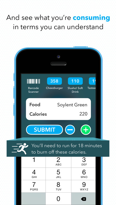 CARROT Hunger - Talking Calorie Counter App Download ...