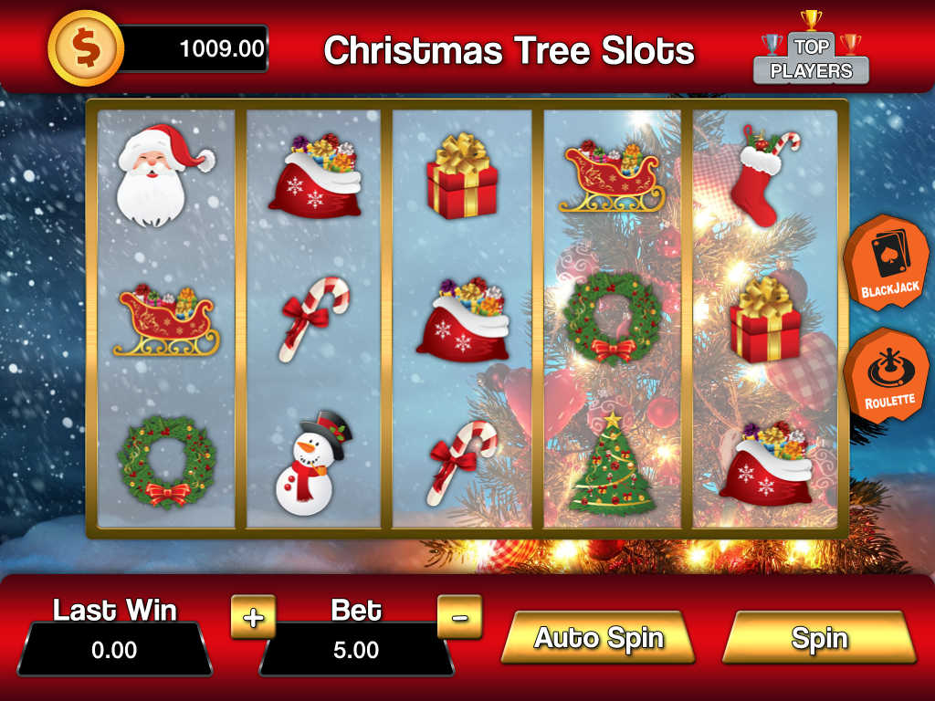 Slot machine christmas 240x320