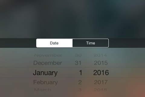 Countdown for iOS screenshot 2