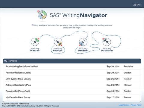 SAS Writing Navigator