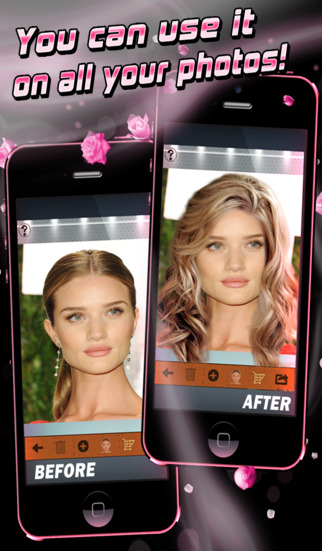 Celebrity Hairstyles-Look Like an Actress with Virtual Hair