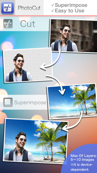 PhotoCut - Superimpose Images and Background Eraser