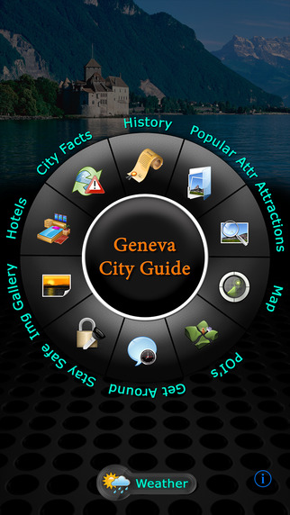 Geneva Offline Map Travel Guide