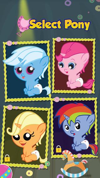 Newborn Pony Pet Care