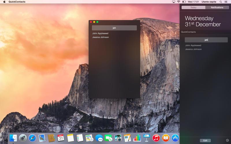 QuickContacts Screenshot - 3