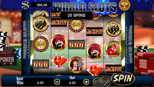 AAA Aabsolute World Casino Slots - Top FREE Vegas Series Gambling with Jackpots and Payouts