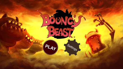 《野兽的历险:Bouncy Beast [iOS]》