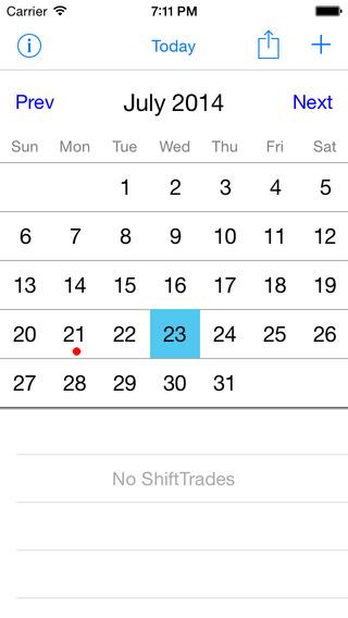 iVisitation iPhone Screenshot 1