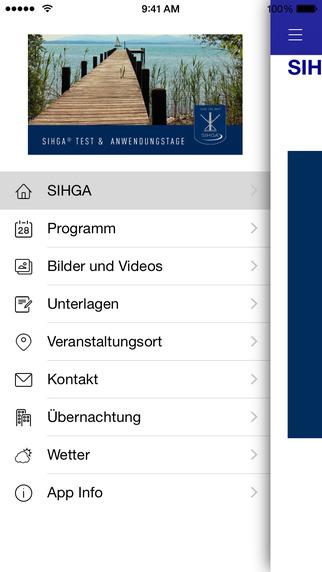 SIHGA Test- und Anwendungstage 2015