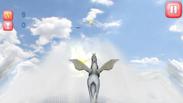 Pegasus Rainbow Run 3D