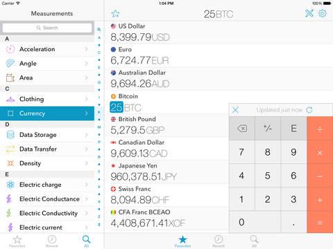 The Converter iPad Screenshot 1
