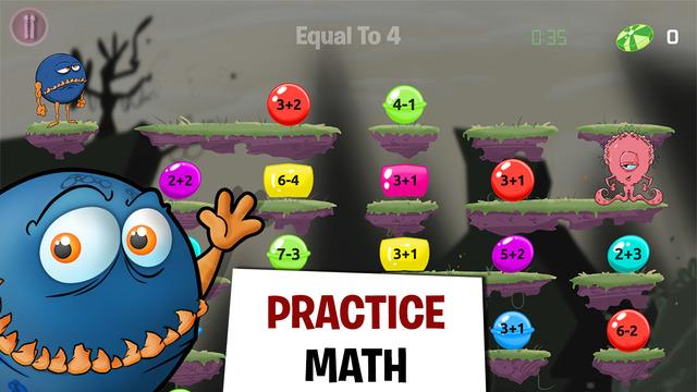 Monster Math - Help Your Kids Mental Mathematic Skills - Fun School Games