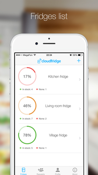 Cloudfridge - list of products and purchases in your phone