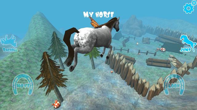 Hill Cliff Horse - Ragdoll Physics