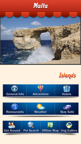 Malta Island Offline Guide