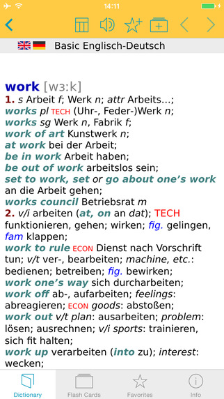 German English Talking Dictionary Basic