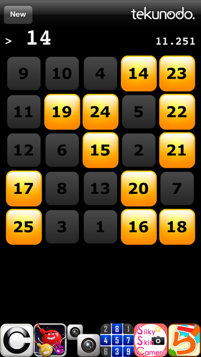 Touch the Numbers iPhone Screenshot 1