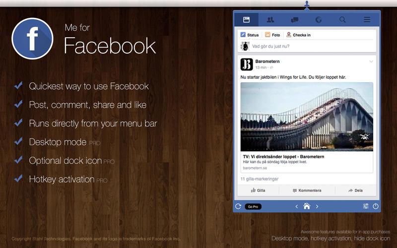 Me for Facebook Screenshot - 1