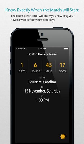 Boston Hockey Alarm