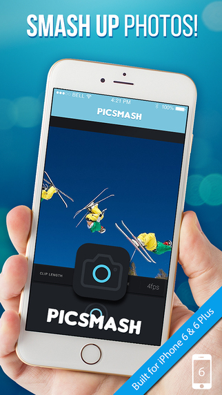 PicSmash for Instagram - Moving pictures gifmaker video selfie effects for iPhone