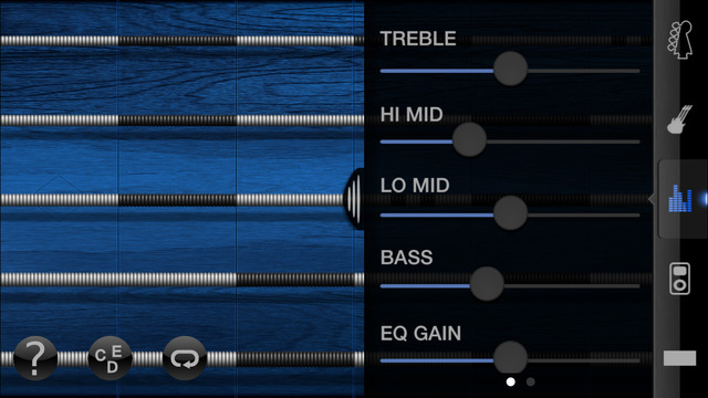 iFretless Bass Screenshots