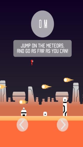 玩免費遊戲APP|下載Meteor Man Free app不用錢|硬是要APP