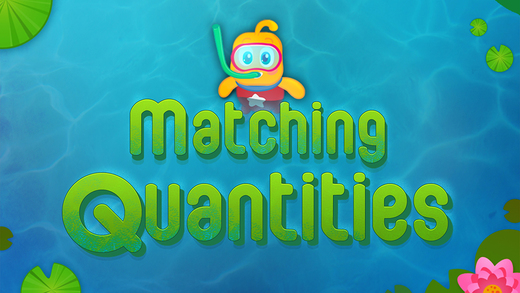 Learn to Count 1234 with Fishes - Numbers Counting Quantity Match Math Puzzle : IQ for toddler kids