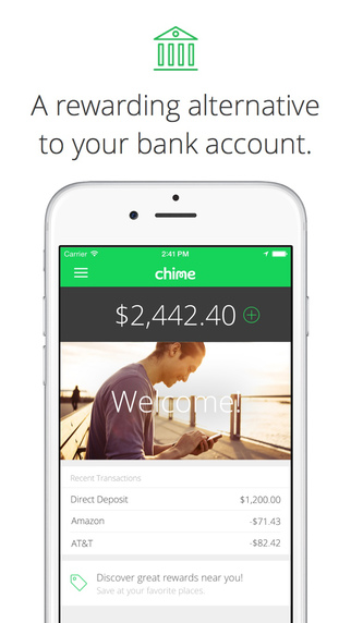 Chime Banking with Rewards